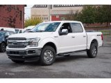 2018 White Platinum Ford F150 Lariat SuperCrew 4x4 #123179650