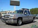 2005 Silver Birch Metallic Chevrolet Silverado 1500 LS Extended Cab #123179568