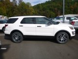 2017 White Platinum Ford Explorer Sport 4WD #123179747