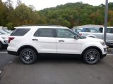 2017 White Platinum Ford Explorer Sport 4WD #123196110
