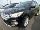 2018 Shadow Black Ford Escape SEL #123210497