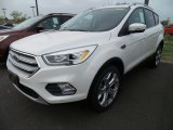 2018 White Platinum Ford Escape Titanium 4WD #123210481