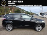 2018 Shadow Black Ford Escape Titanium 4WD #123210275