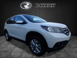 2014 White Diamond Pearl Honda CR-V EX AWD #123210268