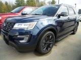 2017 Blue Jeans Ford Explorer XLT 4WD #123210459
