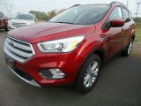 2018 Ruby Red Ford Escape SEL 4WD #123210510