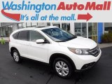2014 White Diamond Pearl Honda CR-V EX-L AWD #123234317