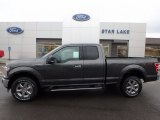 2018 Magnetic Ford F150 XLT SuperCab 4x4 #123234486