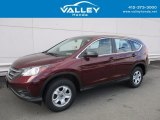 2014 Basque Red Pearl II Honda CR-V LX AWD #123255634