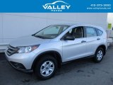 2013 Alabaster Silver Metallic Honda CR-V LX AWD #123255633