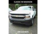 2018 Summit White Chevrolet Silverado 1500 WT Double Cab 4x4 #123255973