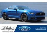 2017 Lightning Blue Ford Mustang GT Coupe #123255861