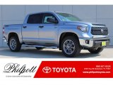 2018 Silver Sky Metallic Toyota Tundra TSS CrewMax 4x4 #123255919