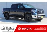 2018 Midnight Black Metallic Toyota Tundra TSS CrewMax 4x4 #123255918