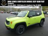 2017 Hypergreen Jeep Renegade Trailhawk 4x4 #123255732