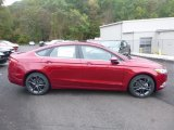 2018 Ruby Red Ford Fusion SE #123255839