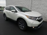 2017 White Diamond Pearl Honda CR-V EX-L AWD #123255776