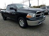 2012 Black Dodge Ram 1500 SLT Quad Cab 4x4 #123255707