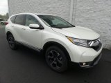 2017 White Diamond Pearl Honda CR-V Touring AWD #123284230