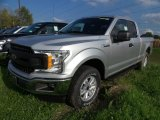 2018 Ingot Silver Ford F150 XL SuperCab 4x4 #123284454