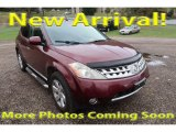 Sunset Red Pearl Metallic Nissan Murano in 2006