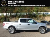 2018 Ingot Silver Ford F150 STX SuperCrew 4x4 #123284212