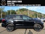 2017 Shadow Black Ford Explorer XLT 4WD #123284210