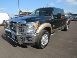 2012 Green Gem Metallic Ford F250 Super Duty Lariat Crew Cab 4x4 #123312916