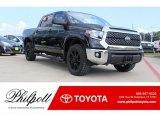 2018 Midnight Black Metallic Toyota Tundra TSS CrewMax 4x4 #123312869