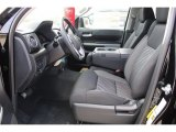 2018 Toyota Tundra TSS CrewMax 4x4 Black Interior