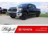 2018 Midnight Black Metallic Toyota Tundra TSS CrewMax 4x4 #123312868