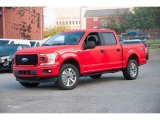 2018 Race Red Ford F150 STX SuperCrew 4x4 #123312808