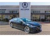 2018 Crystal Black Pearl Acura TLX V6 A-Spec Sedan #123325324