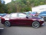 2018 Burgundy Velvet Ford Fusion SE AWD #123328952