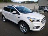 2018 Ford Escape White Platinum