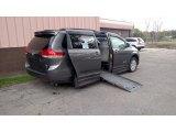 2011 Predawn Gray Mica Toyota Sienna XLE #123329076