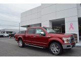 2018 Ruby Red Ford F150 Lariat SuperCrew 4x4 #123328915
