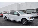 2018 White Platinum Ford F150 XLT SuperCrew #123328913