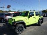 2017 Hypergreen Jeep Wrangler Unlimited Sport 4x4 #123342804