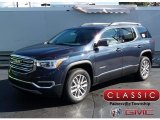 2018 Blue Steel Metallic GMC Acadia SLE AWD #123342854
