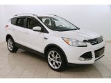 2014 White Platinum Ford Escape Titanium 2.0L EcoBoost 4WD #123342900