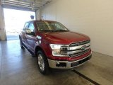 2018 Ruby Red Ford F150 Lariat SuperCrew 4x4 #123342734