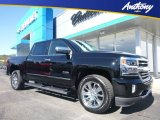 2018 Black Chevrolet Silverado 1500 High Country Crew Cab 4x4 #123342966