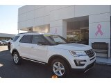 2016 White Platinum Metallic Tri-Coat Ford Explorer XLT 4WD #123342754