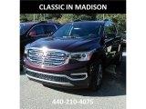 2018 Black Cherry Metallic GMC Acadia SLE AWD #123367431