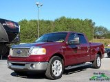 2006 Dark Toreador Red Metallic Ford F150 Lariat SuperCrew #123367206