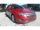 2010 Red Candy Metallic Ford Fusion SEL #123367389
