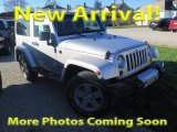 2011 Bright Silver Metallic Jeep Wrangler Sahara 4x4 #123389567