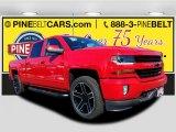 2018 Red Hot Chevrolet Silverado 1500 LT Crew Cab 4x4 #123389622