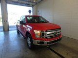 2018 Race Red Ford F150 XLT SuperCab 4x4 #123389742